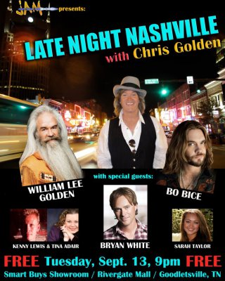 2011 - 'Late Night Nashville'  poster