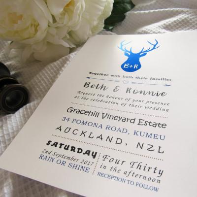 Royal Stag Invitation