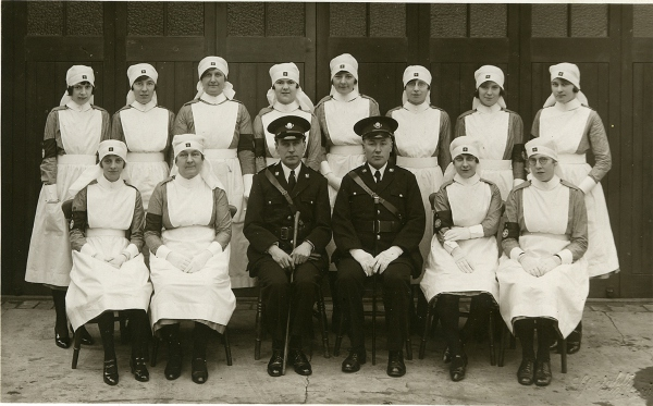 Finedon St John's Ambulance Brigade (undated)