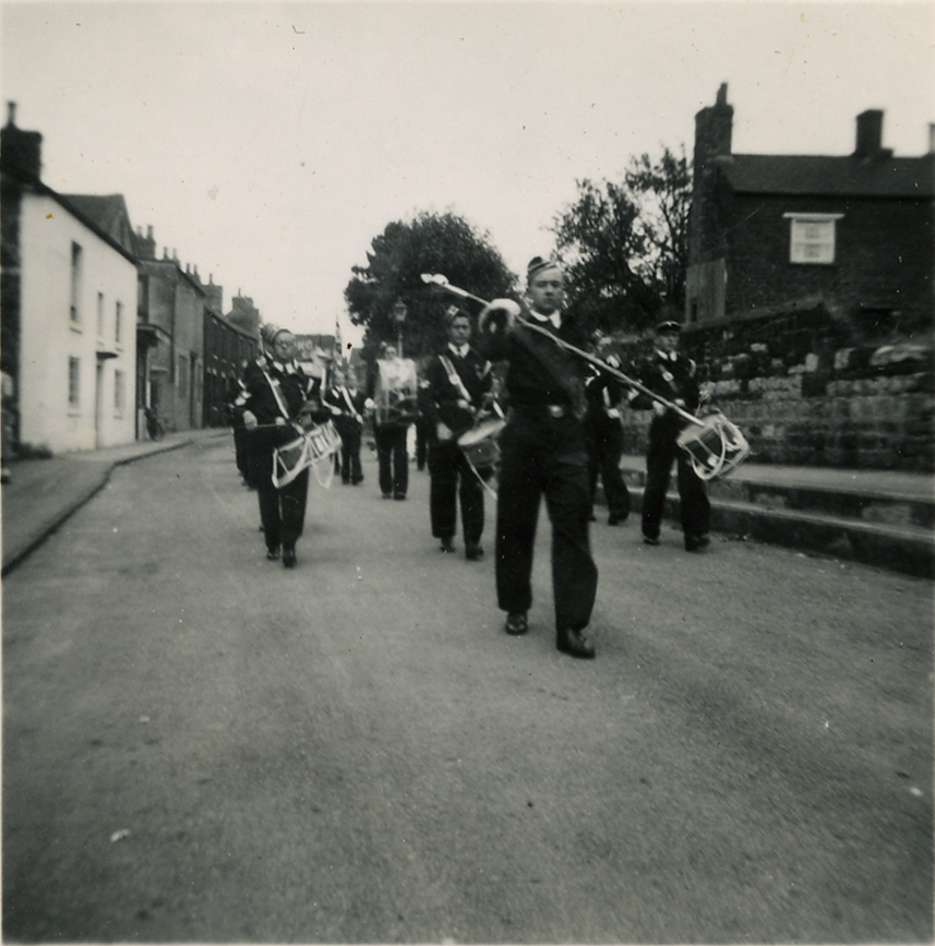 Boys Brigade on parade (c1940s?)