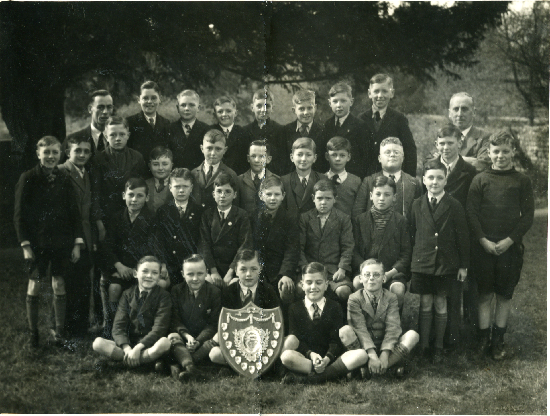 Finedon Junior Boys School Chior (1938)