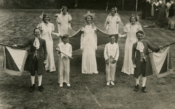 1934 Carnival Queen and Party