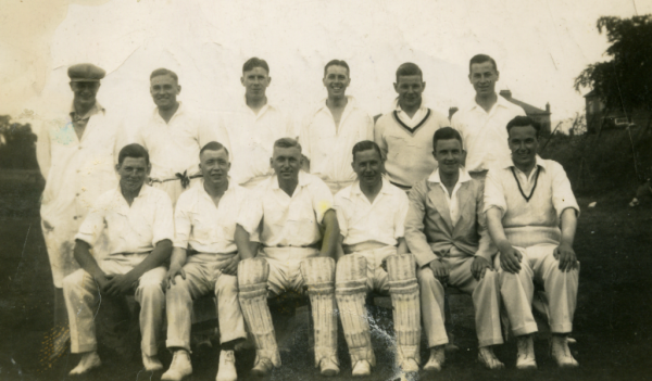 Finedon Dolben Cricket Team 1938/39
