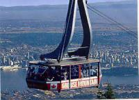 Grouse Mountain Vancouver BC Canada.