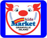 Vancouver BC Canada Kids Market on Granville Island