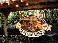 Capilano Suspension Bridge North Vancouver BC Canada