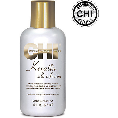 Chi Keratin with silk infusion