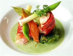Garlic Lobster & Spring Vegetables