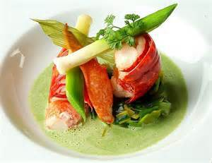 Garlic Lobster & Spring Vegetables