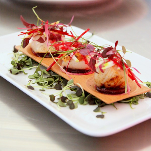 Scallop Ceviche - Lemon Grass Dressing