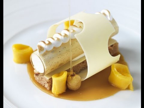 Banana & White Chocolate Terrine