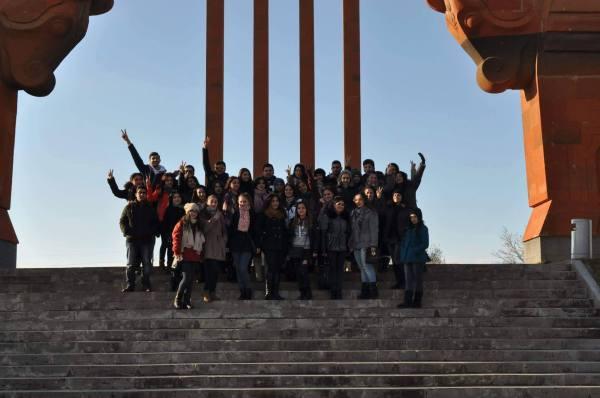 ԵՊՀ ուսանողներն այցելեցին Սարդարապատ