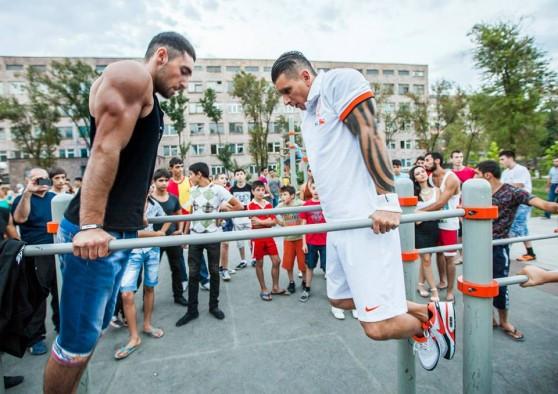 Street Workout-ի Հայաստանի երրորդ առաջնությունը