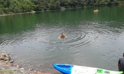 #279 - SWIMMING IN LAKE