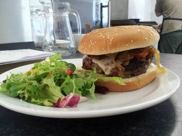 burger coffee still cafe Glenlivet bike trails