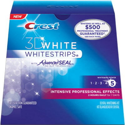 Crest Intensive Professional Effects Whitestrips