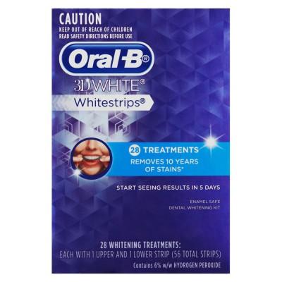 Oral B 3D Whitestrips