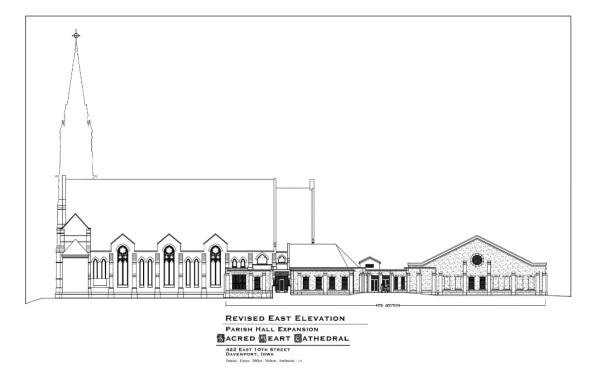 Revised East Elevation