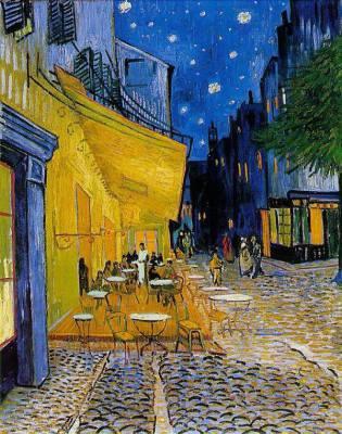 """Cafe Terrace at Night"" - Van Gogh, 1888"
