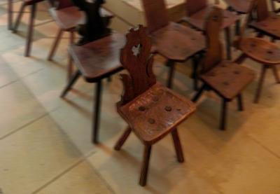 Inima unui scaun