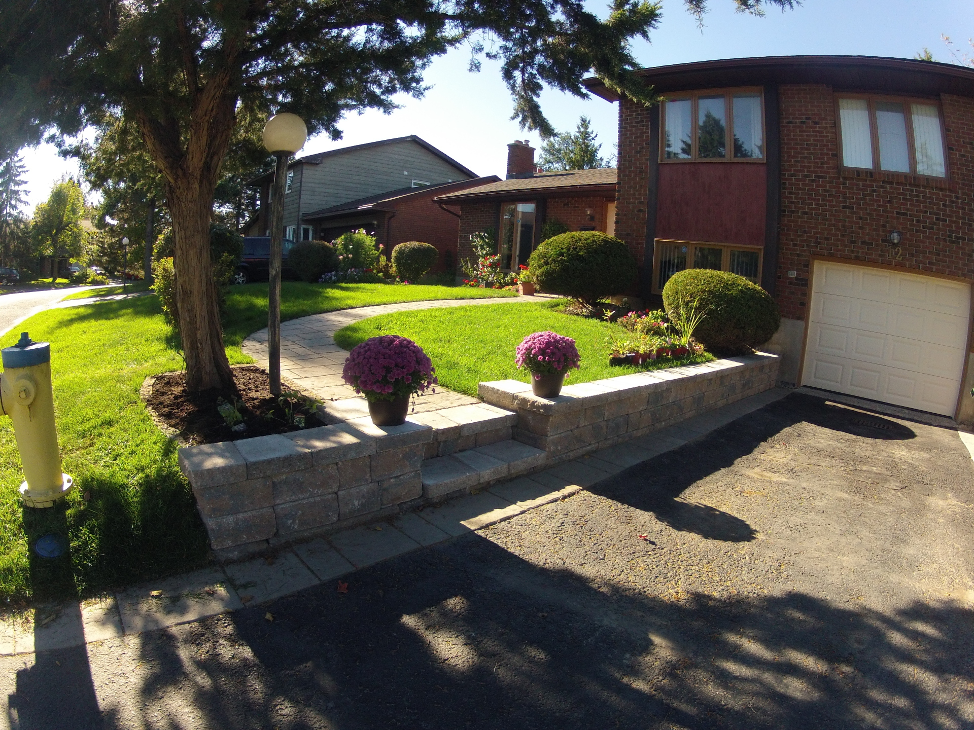 Interlock Wall/Retaining Wall