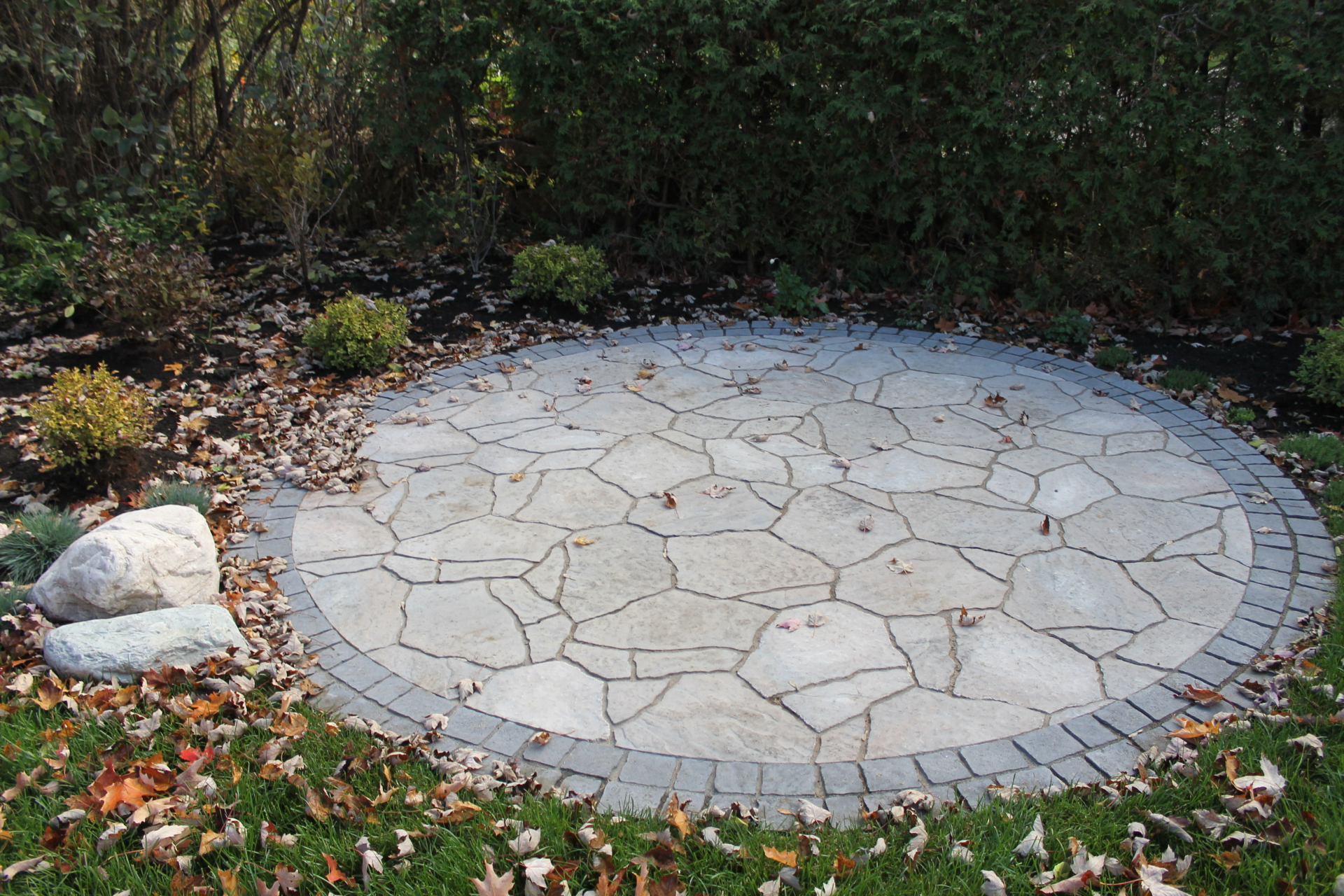 Unique Interlock Patio