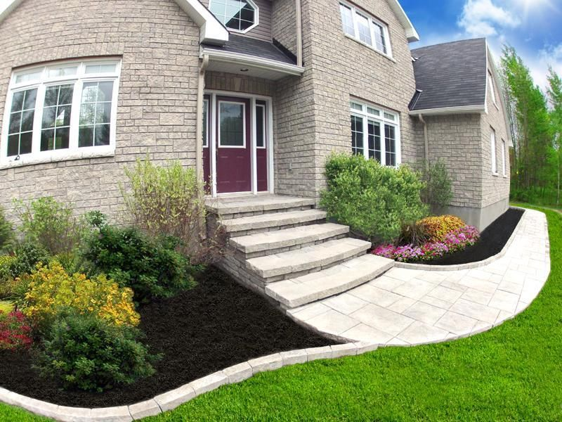 Interlock Steps and Walkway