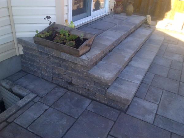 Square Stone Steps