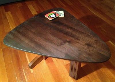 Walnut & Toasted Maple Table