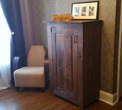 Walnut & Maple Cabinet