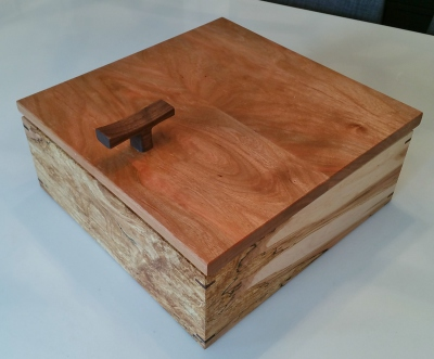 Hardwood Keepsake Box