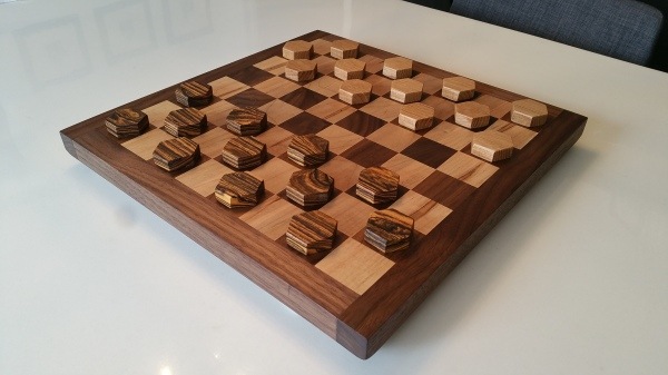 Hand built, chisel, woodwork
