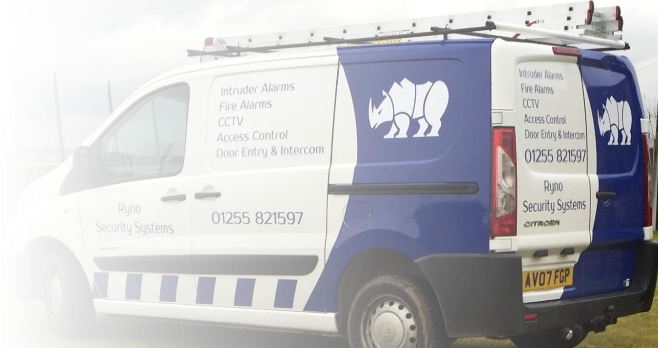 Ryno Security Systems Van