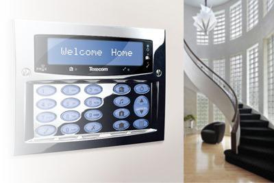 Ryno Texecom Intruder Burglar Alarm Keypad