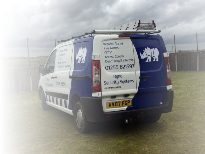 Ryno Security Systems Van