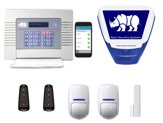 Ryno Burglar Intruder Alarm Kit 2