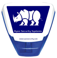 Ryno  Wireless Burglar / Intruder Alarm Bell Box