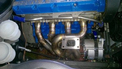 For Escort Cosworth stainless manifold