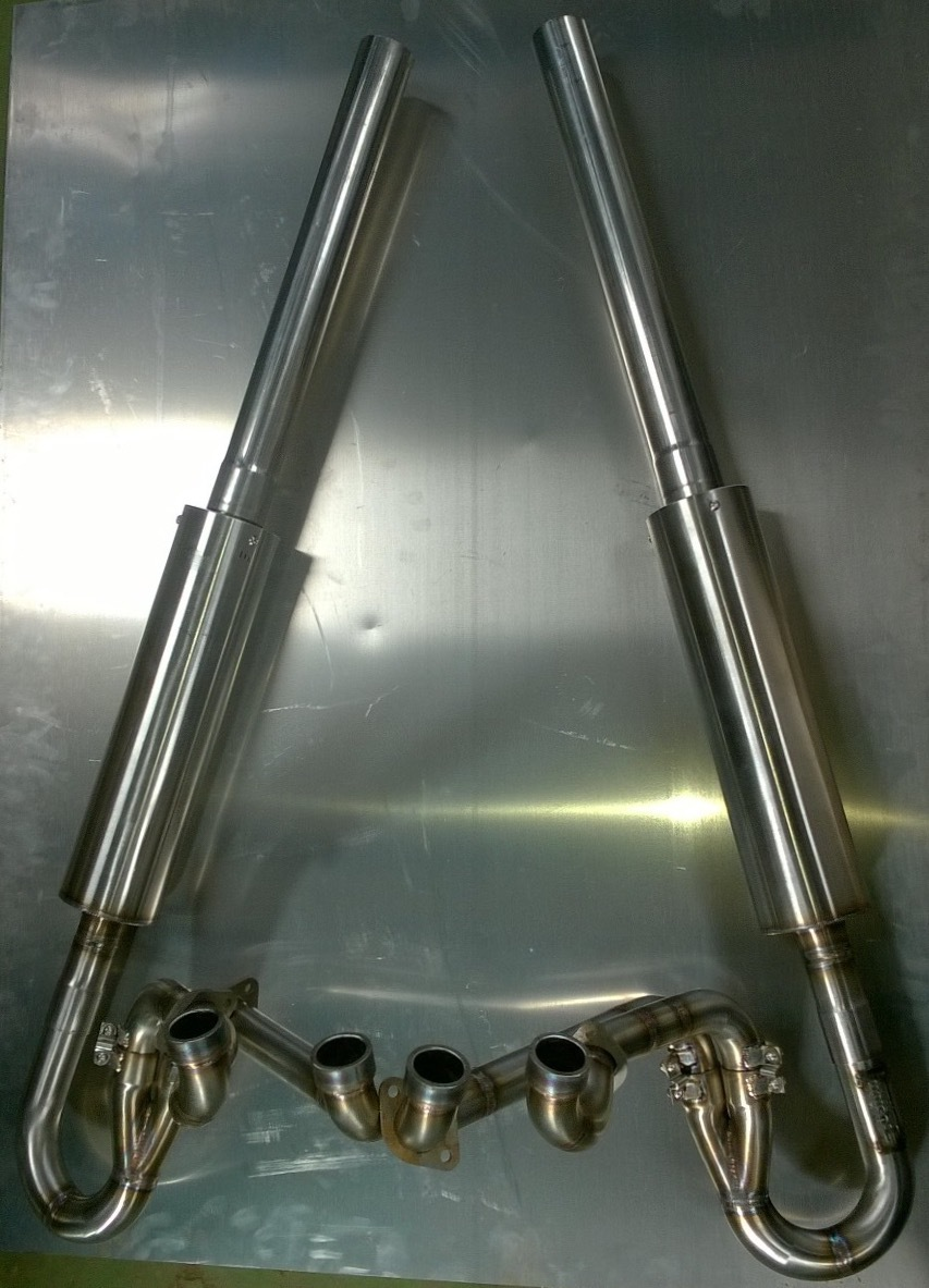Hayabusa F3 Stainless race exhaust
