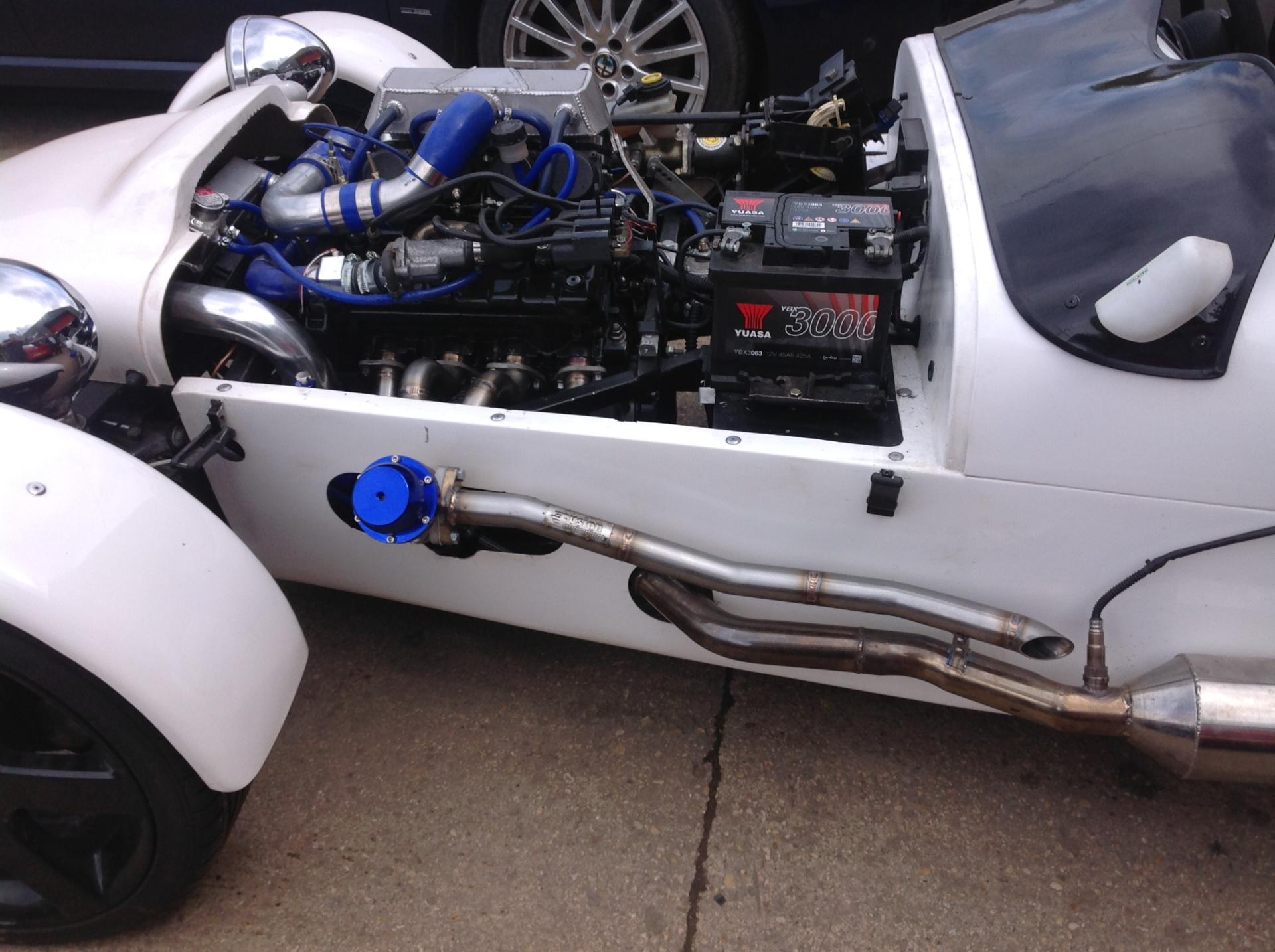 Tiger kit car turbo bike engine