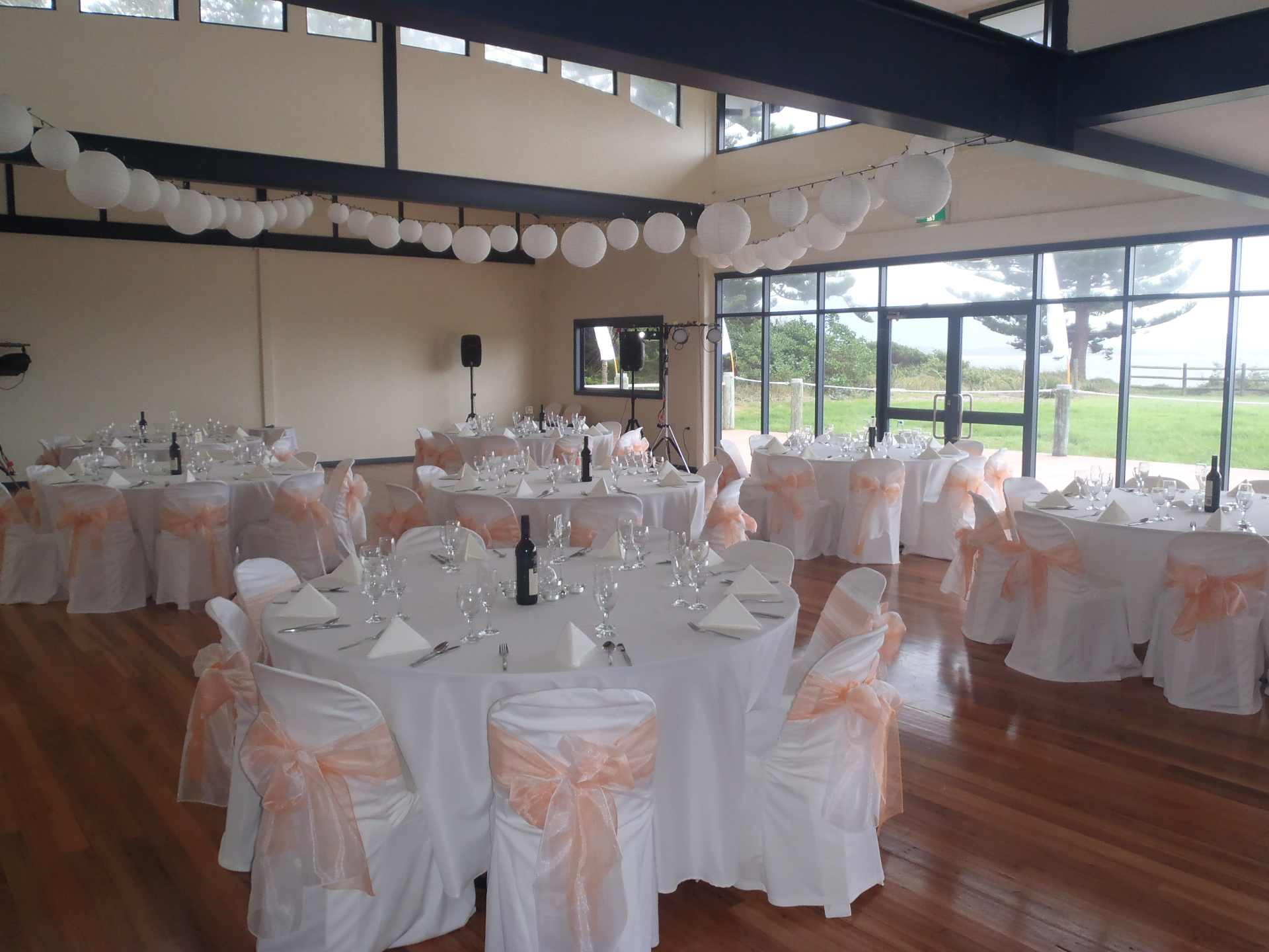 Function room at Bermagui Surf Club