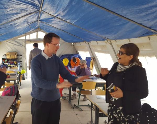 Volunteer -  Freshta Raper: School for refugee children