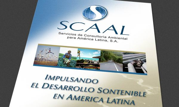 SCAAL, Sustainable Development in Latin America marketing brochure