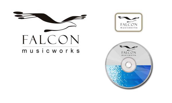 falcon musicworks logo and applications designed by luis ramirez