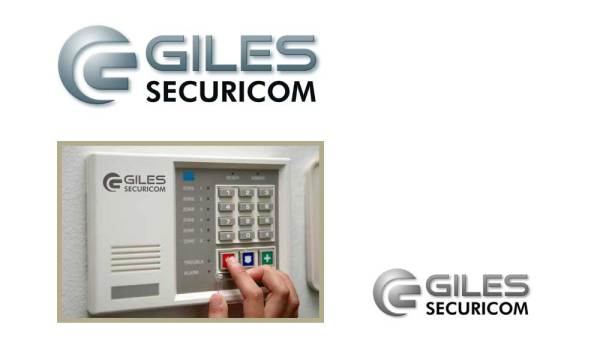 giles securicom logo desgined by luis ramirez