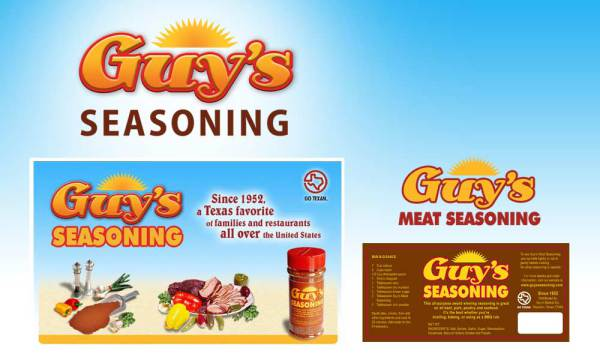 guys seasoning logo designed by luis ramirez