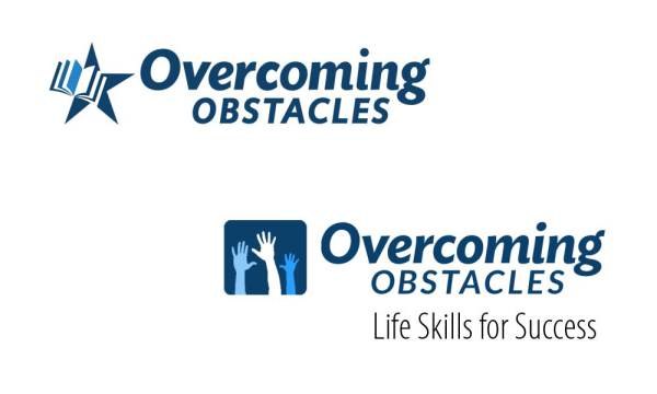 Overcoming Obstacles logo options designed by Luis_Ramirez