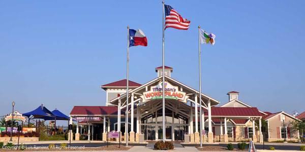 photo of morgan's wonderland building in san antonio texas - by luis ramirez web print photography