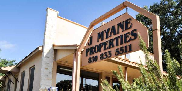 photo of J Myane Realty bulding in Blanco,Texas by luis ramirez web print photography