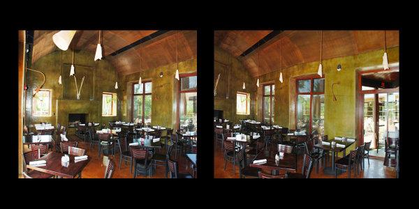 interior Interior view of Paesanos Restaurant in San Antonio, Texas - by Luis Ramirez web print photography